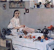 One of Fechin's Greatest Works: Portrait of Varya Adoratskaya (1914)