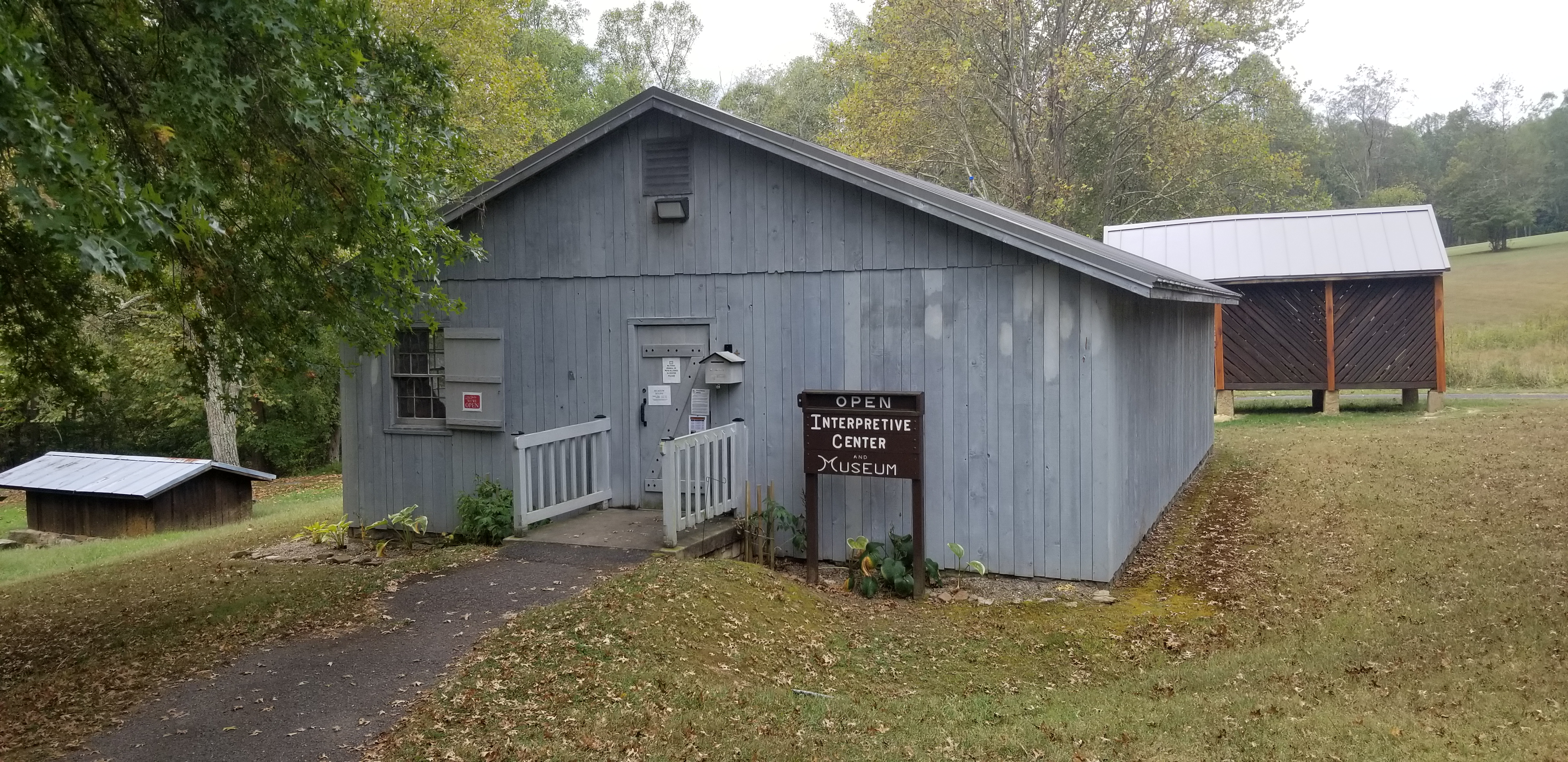 The Bulltown Interpretive Center and Museum Building