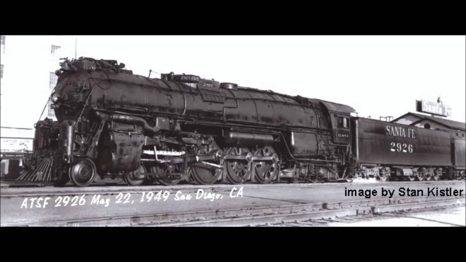 1949 photo of SD #2926 in San Diego