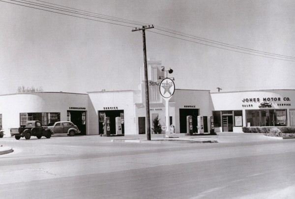 Early 1940s of Jones Motor Company building