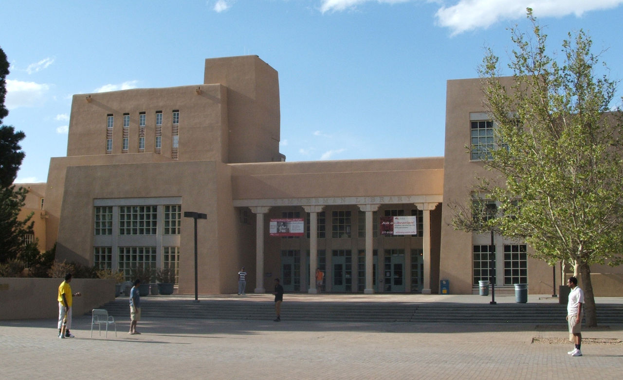 UNM's Zimmerman Library