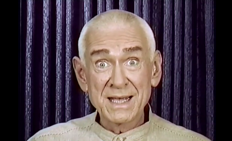 A commonly used image of Marshal Applewhite, screen captured from video broadcasts the group made in 1997