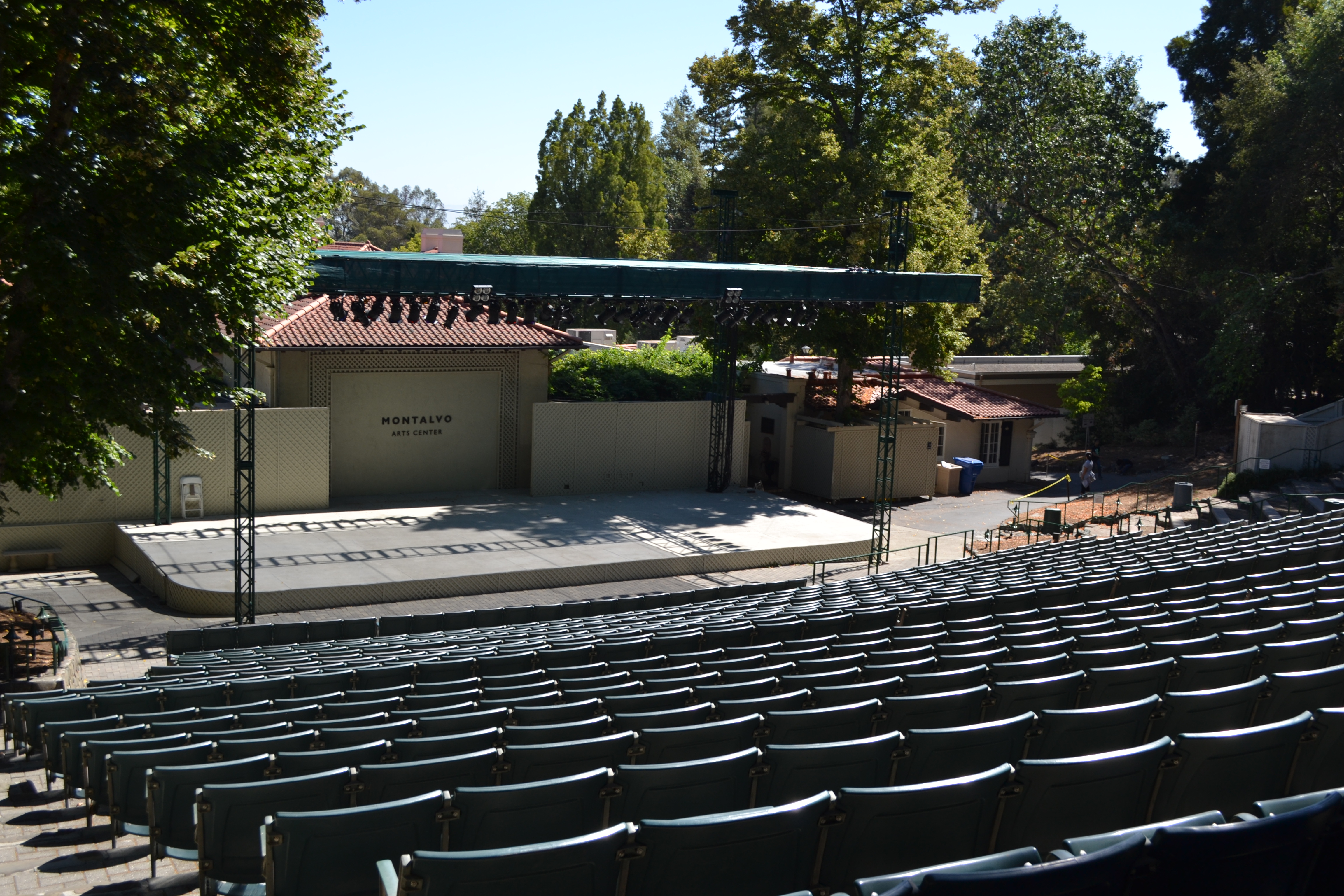 The center's largest outdoor venue features performances by numerous local and national talents.
