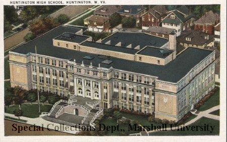 Huntington High School, circa 1940s