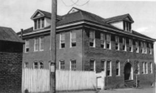 Jefferson Graded School: Construction began in 1894, and the building was demolished in 1959.