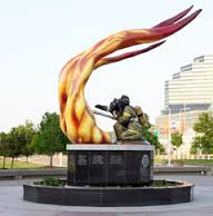 The Cleveland Fallen Fire Fighters Memorial was dedicated on June15th, 2007.