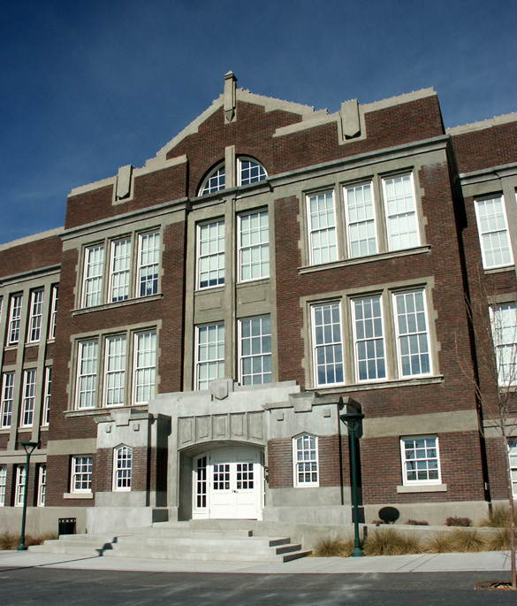 Old Albuquerque High School as it is seen today