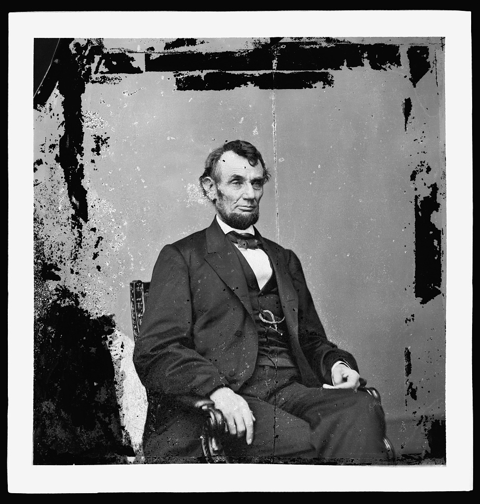 Photograph of President Lincoln taken in 1864
