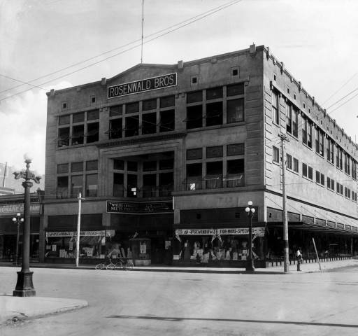 Rosenwald Building circa 1915. Courtesy of the Albuquerque Museum