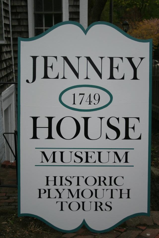 Sign outside the Jenney Museum (Courtesy of the Museum's Facebook page)