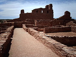 Mission ruins at Abó