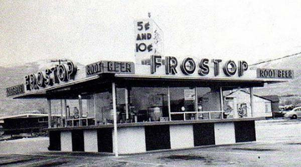 An early Frostop, circa 1940s