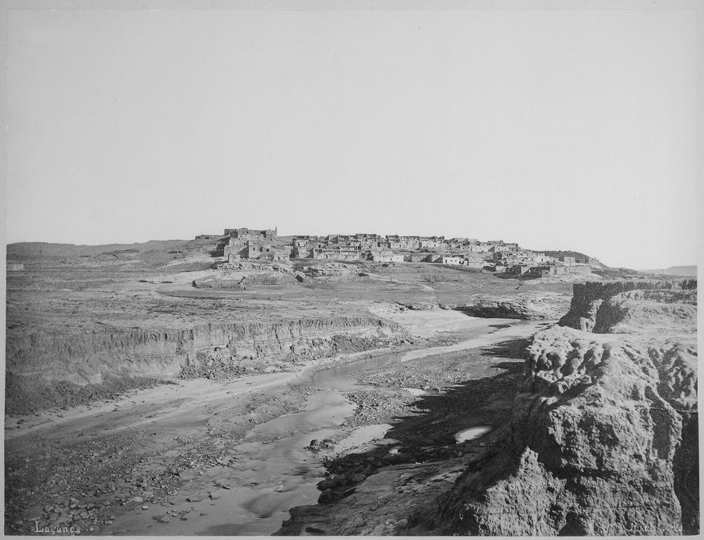 Laguna Pueblo, 1879