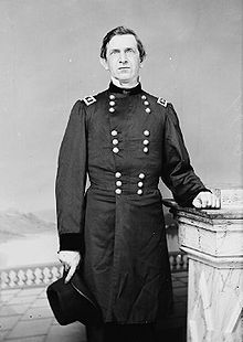 Union General Edward Canby photo during the Civil War