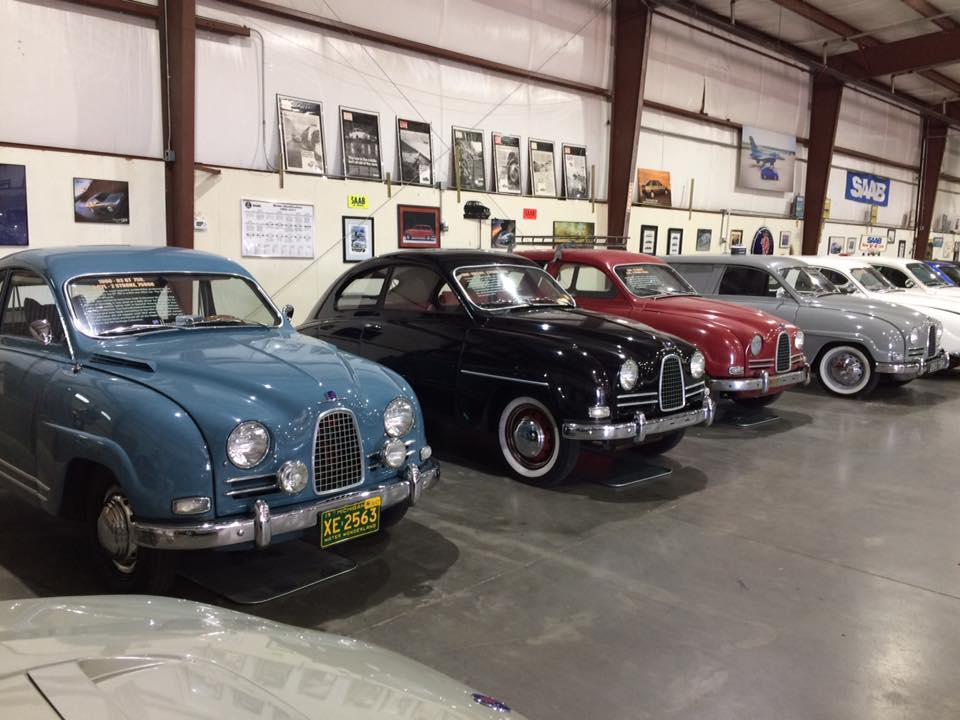 The cars date from the 1950s today and most are drivable.