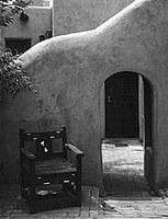 Blast from the Past: Entrance to Las Mañanitas