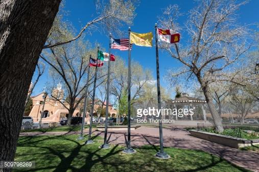 The five flags of Albuquerque