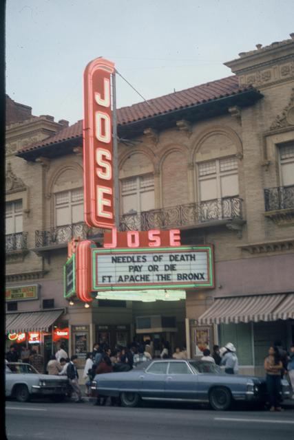 The Jose Theater in the 1970s