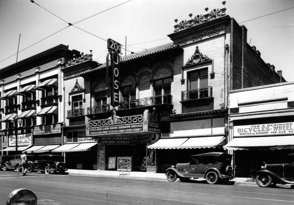 the Jose theater 1931