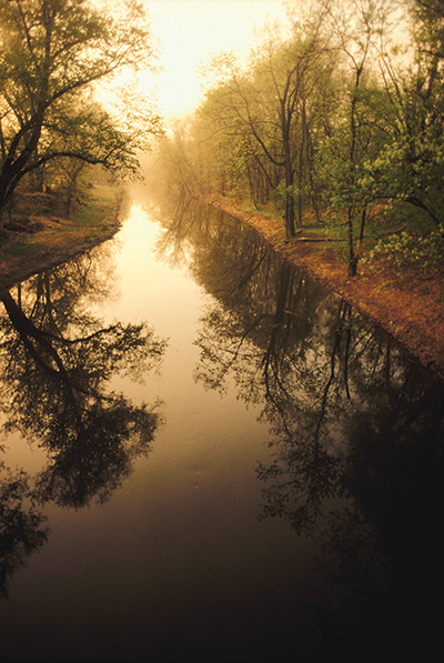 The D&R Canal State Park (image from New Jersey Monthly Magazine)