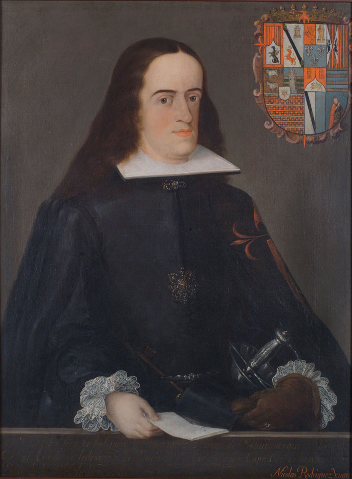 18th century portrait of Don Francisco Fernandez De La Cueva Enriquez, Duke of Albuquerque