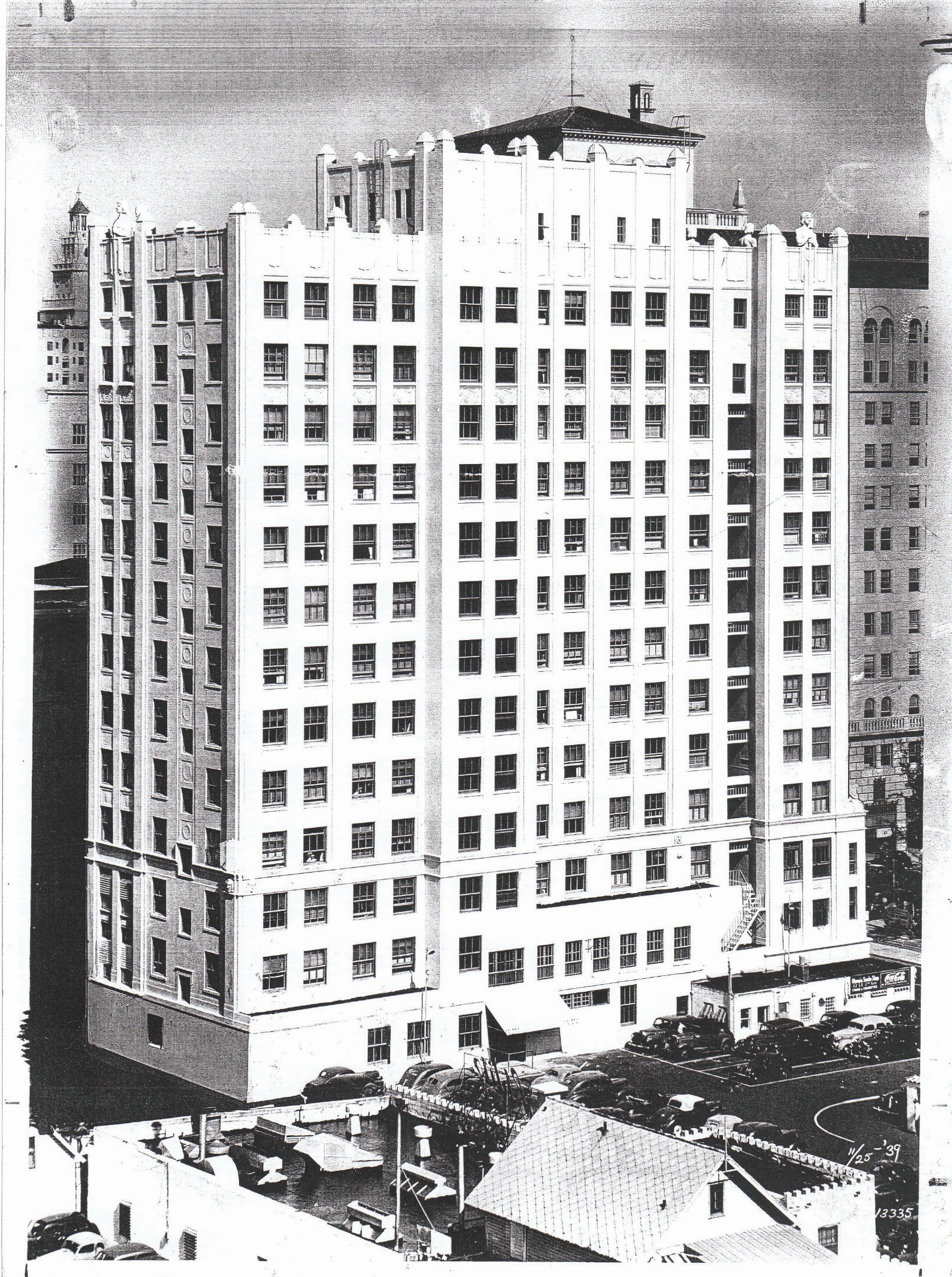 The Huntington Building sometime after its completion. Image obtained from the JSK Architectural Group.