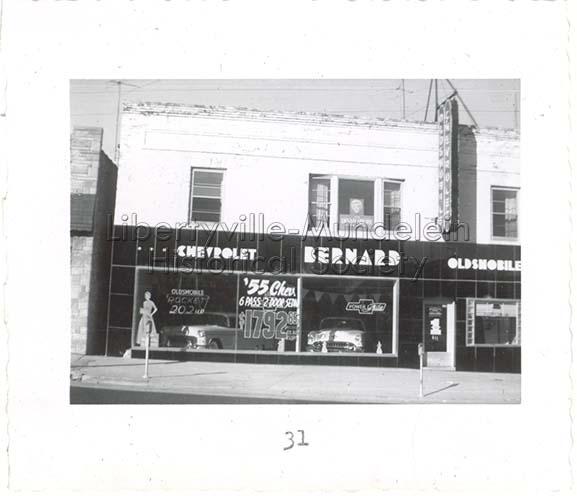 611 N. Milwaukee Avenue, Bernard Chevrolet, 1955