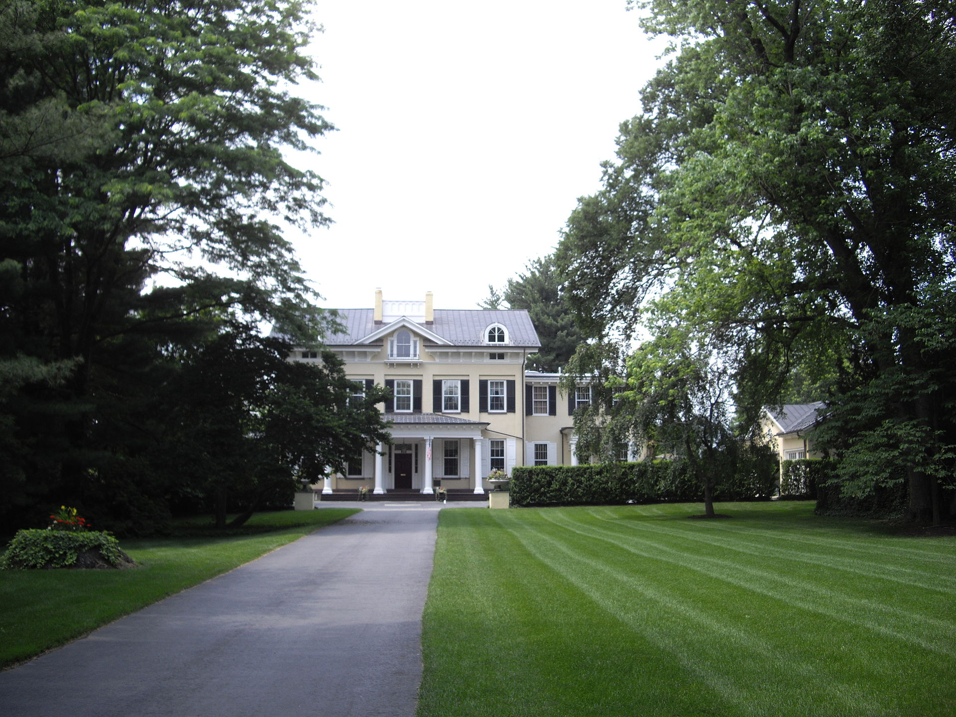 Westland Mansion was originally built in 1856 and was the home of President Grover Cleveland after his second term in office.