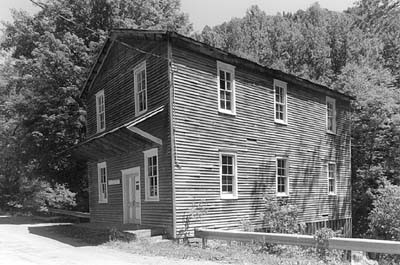 Photo obtained from the WV Division of Culture and History, Fidler's Mill entry.