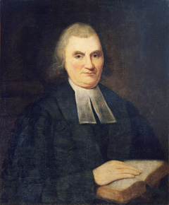 John Witherspoon lived in the house as the president of the college. He was a strong supporter of the movement for independence from Britain and a signer of the Declaration of Independence.