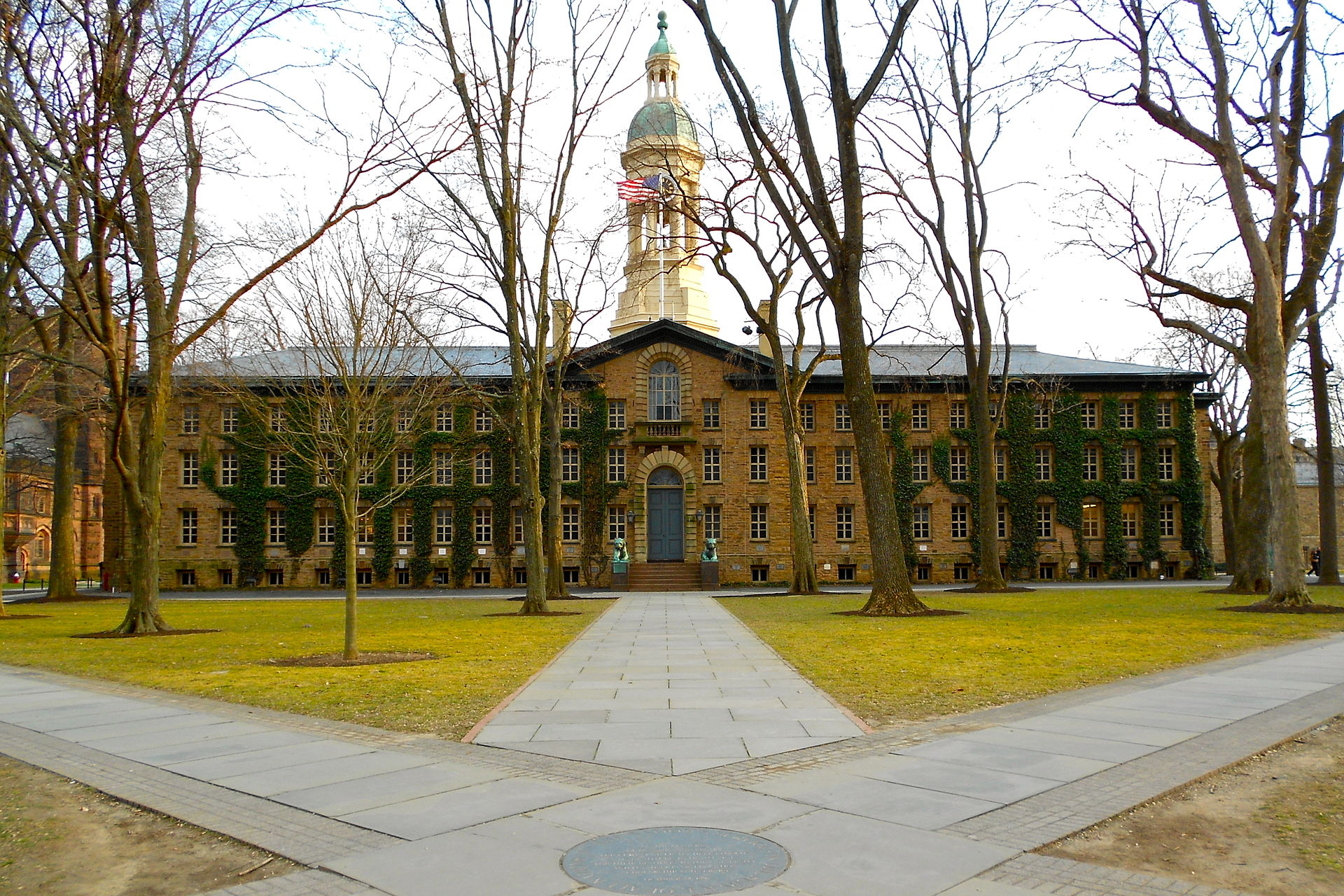 Built in 1756, Nassau Hall is Princeton's most historic building and a National Historic Landmark.