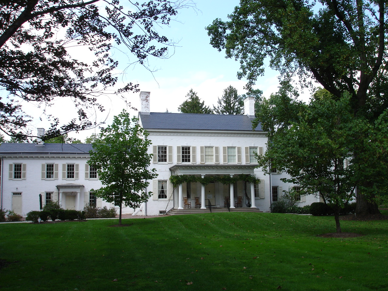 Morven Museum and Garden was once the home of Richard Stockton, lawyer and signer of the Declaration of Independence.