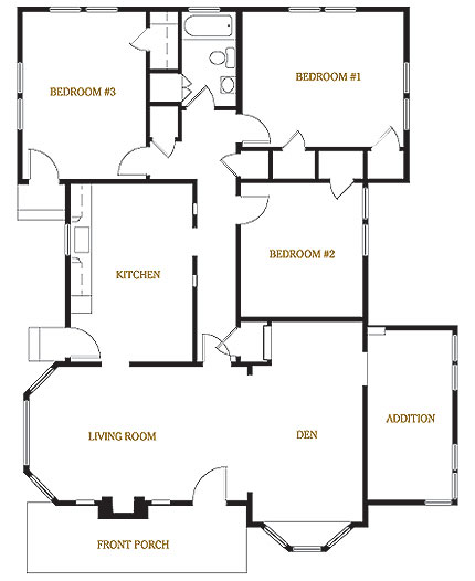 Official floorplan of the Home, from the official homepage