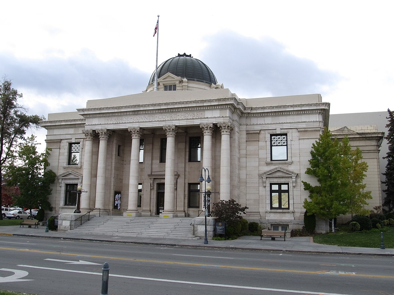 The Washoe Country Courthouse was built in 1911 and was the site of tens of thousands of divorces in the early 20th century.