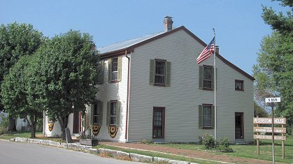 The Peterstown House was built sometime between 1815-1830.