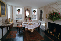 Dining Parlor, The 1749 Spooner House (Courtesy of the Plymouth Antiquarian Society)