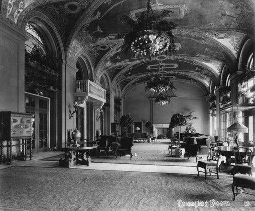 The old lounging room.