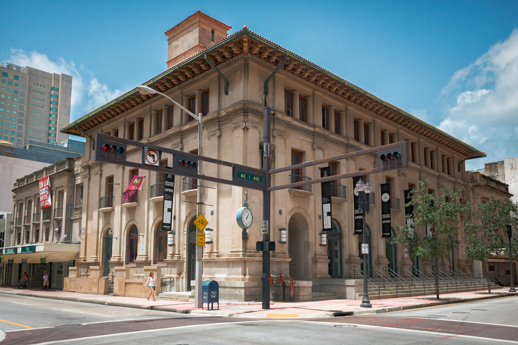 Completed in 1914, the Old U.S. Post Office and Courthouse was the first major government building in Miami. Imaged obtained from Flickr.