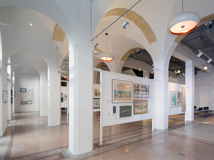 Today the Miami Center for Architecture and Design hosts a variety of exhibits and events promoting the city's architecture and cultural history. Image obtained from Shulman + Associates.