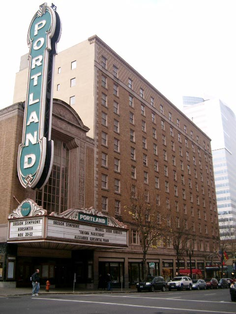 The theater was saved from demolition in the early 1970s.