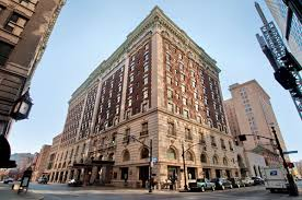 The Seelbach Hilton is both a historic landmark and a fine example of the  Beaux Arts architectural design that was popular at the turn-of-the-century.