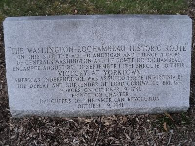 The marker