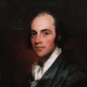 Aaron Burr spent several years in Europe following the trial over the duel with Alexander Hamilton.
