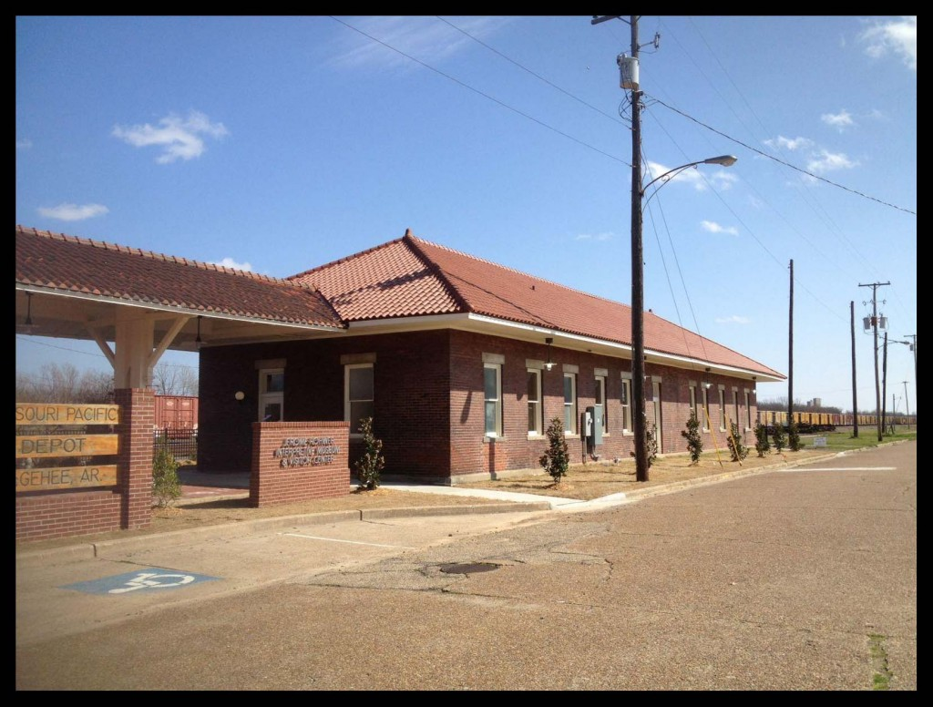 McGehee Railroad Depot. The WWII Japanese-American Internment Museum opened here in 2013.