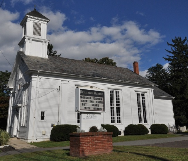 Penns Neck Baptist Church was constructed in 1812.