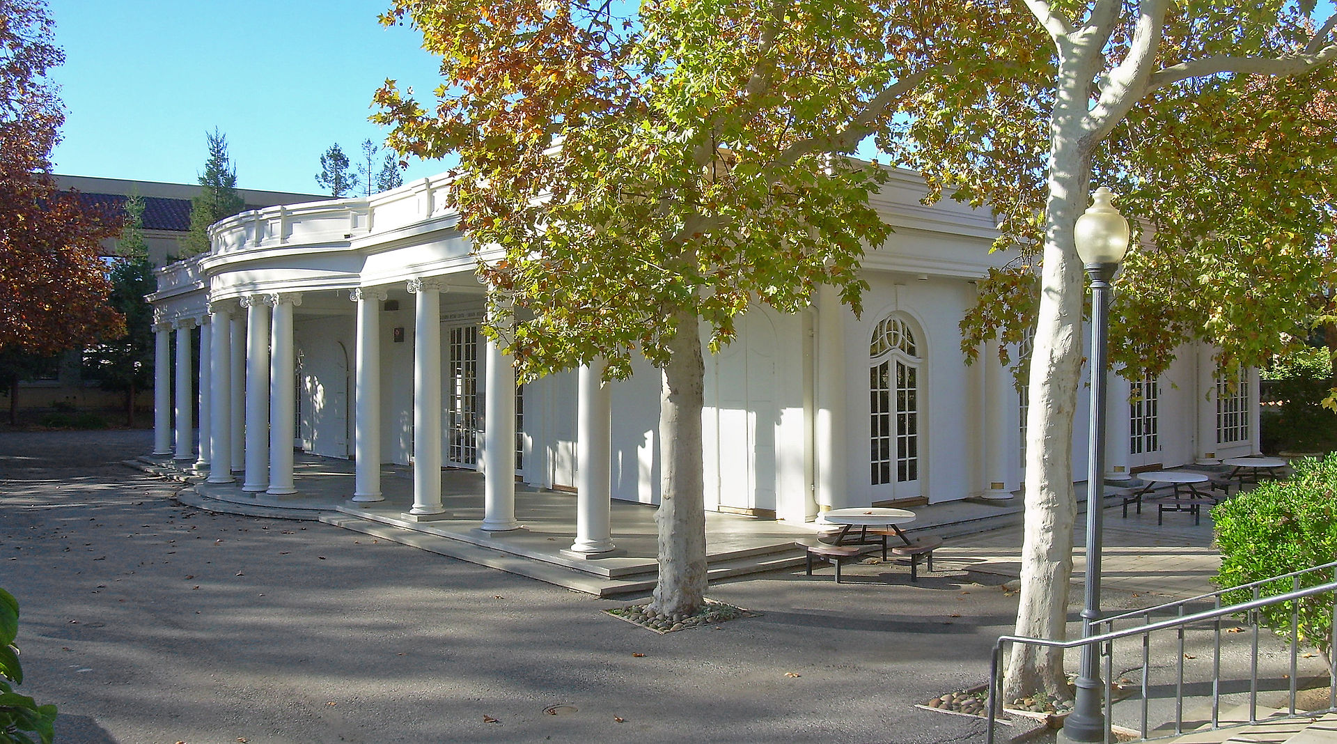Home to the California History Center, Le Petit Trianon was moved twice from its original location and saved from the wrecking ball during the 1960s.
