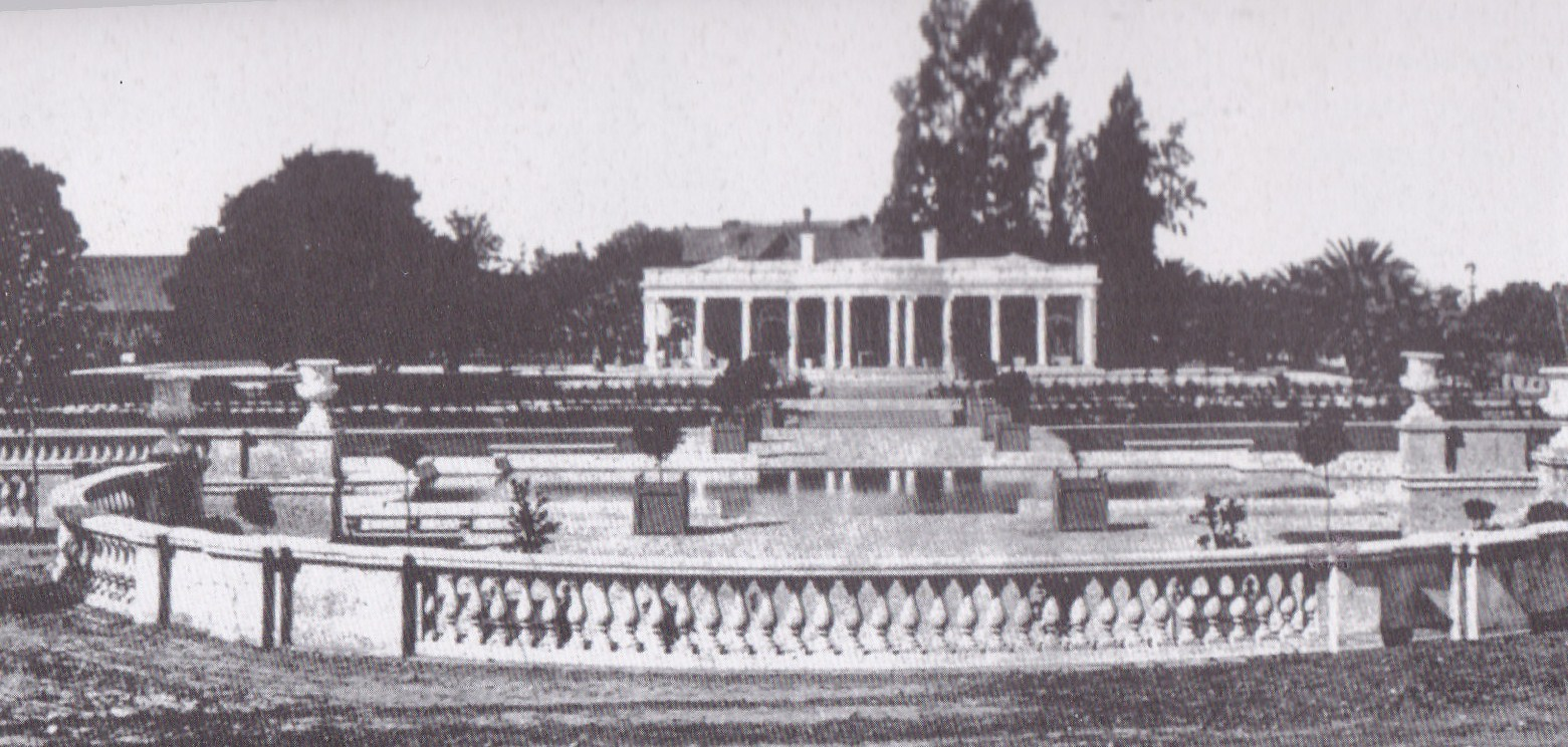 An image of Le Petit Trianon prior to falling into disrepair.