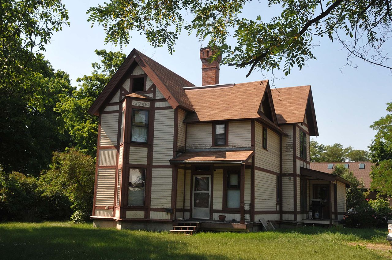 The Fisher House was home to pioneer Presbyterian minister, George McVey Fisher, who built the home in 1892.