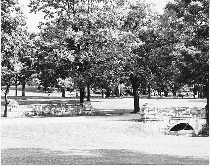 Palmer Park Bridge circa 1980s/
