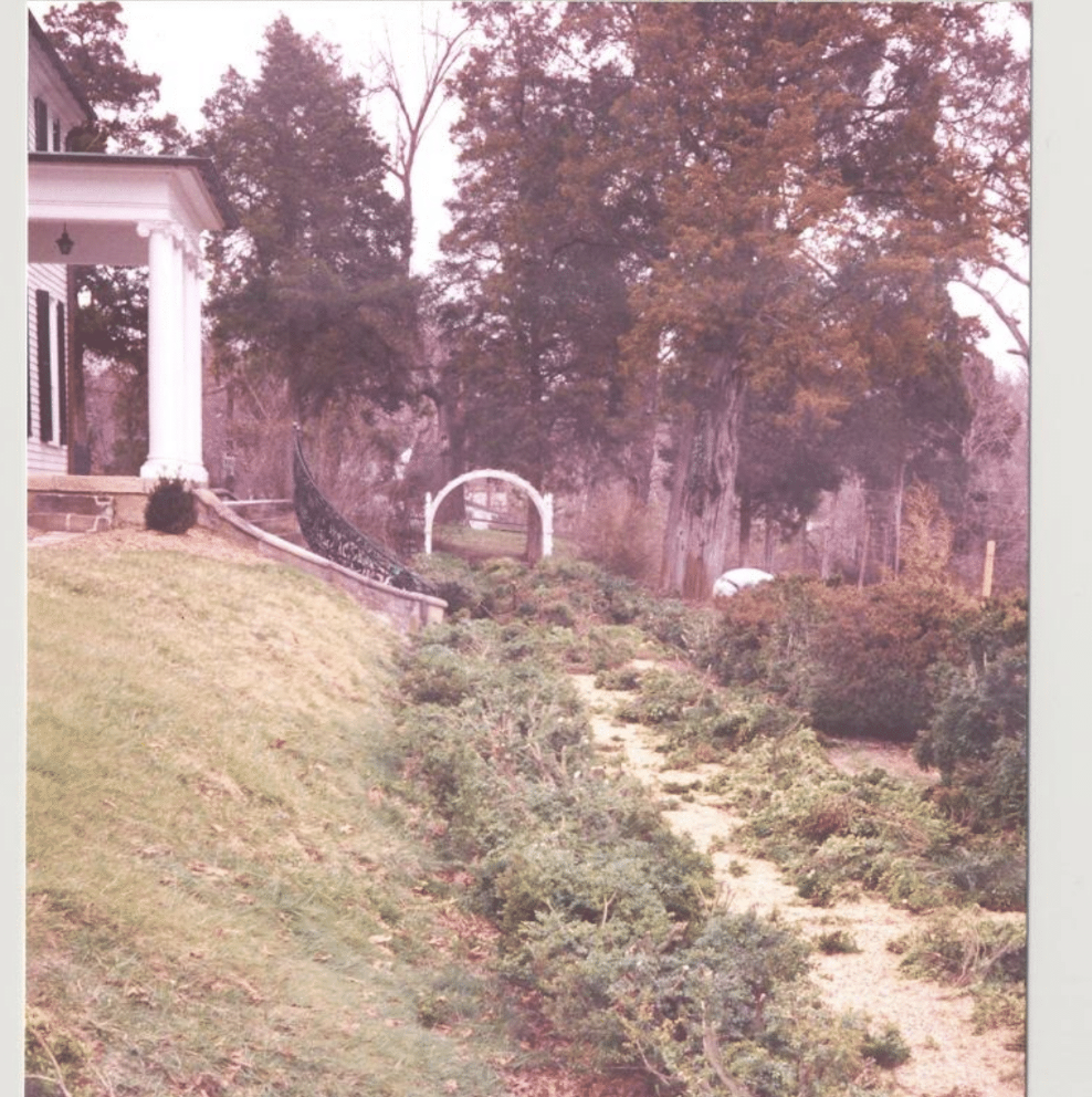 1993 Long Walk and South Lawn Restoration